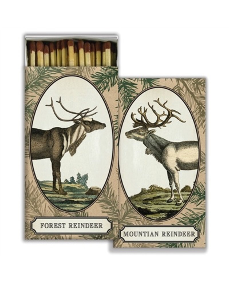 HomArt Matches - Reindeer - Brown - Set of 3