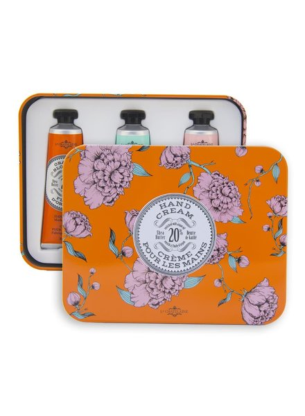 La Chatelaine Orange Hand Cream Trio