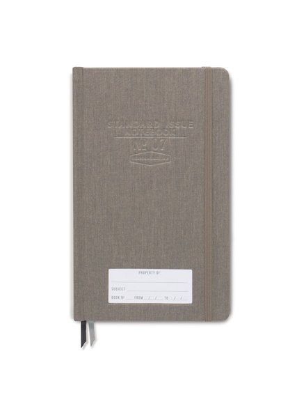 Designworks Ink Standard Issue Notebook Taupe