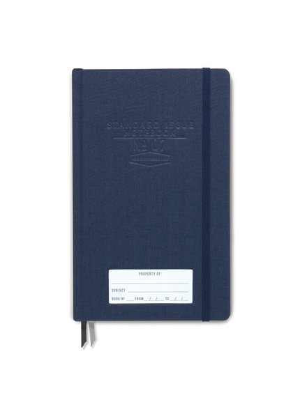 Designworks Ink Standard Issue Notebook Blue