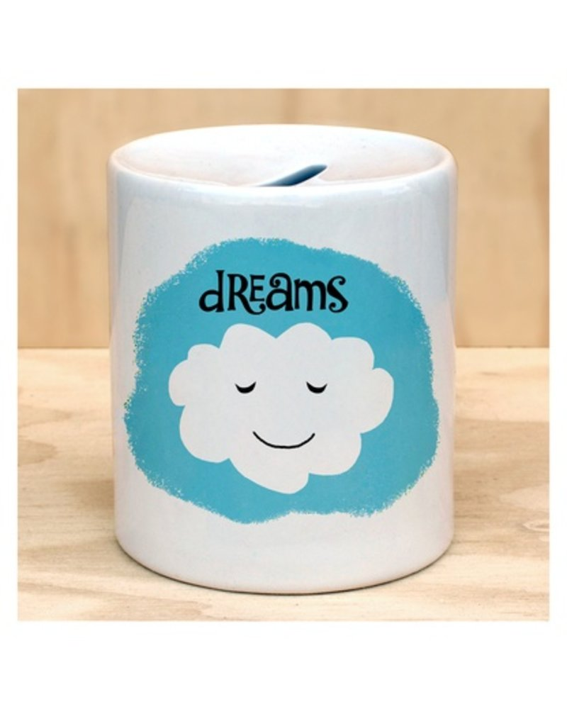 Rock Scissor Paper Dream Cloud Coin Bank