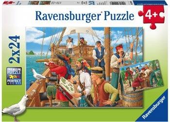 Australia Rburg - With the Pirates 2x24pc Puzzle