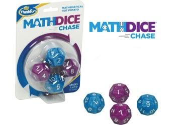Australia ThinkFun - Maths Dice Chase Game