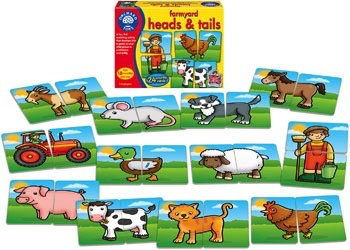 Australia Orchard Toys - Farmyard Heads and Tails