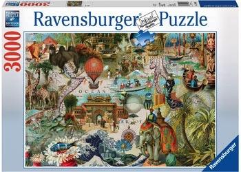 Australia Ravensburger - Oceania 3000pc Puzzle