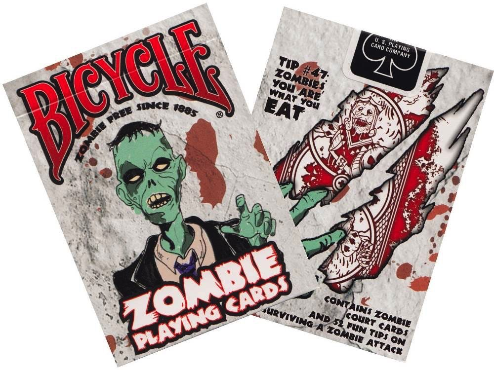 Australia BICYCLE POKER ZOMBIE