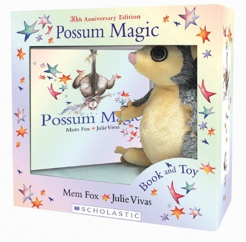 Australia Possum Magic Plush Box Set