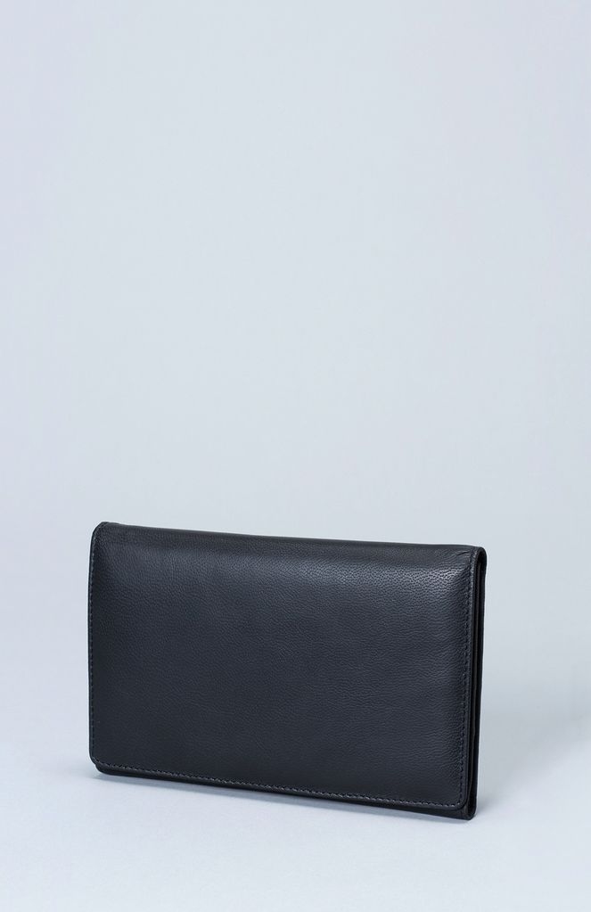 Australia Black Kroon Wallet