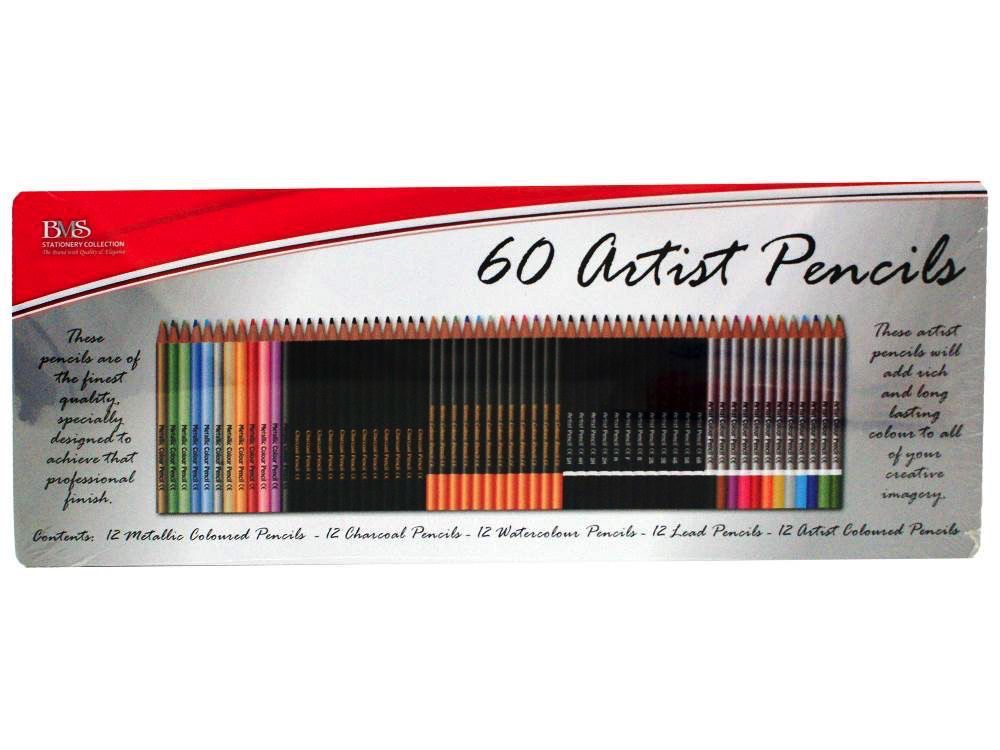 Australia 6 0 ARTISTS PENCILS IN TIN