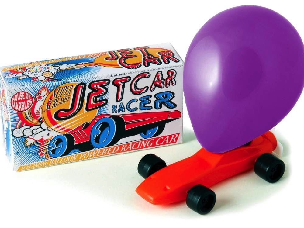 Australia BALLOON JETCAR RACER (Boxed)