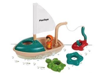 Australia Plan Toys - Activity Fishing Boat