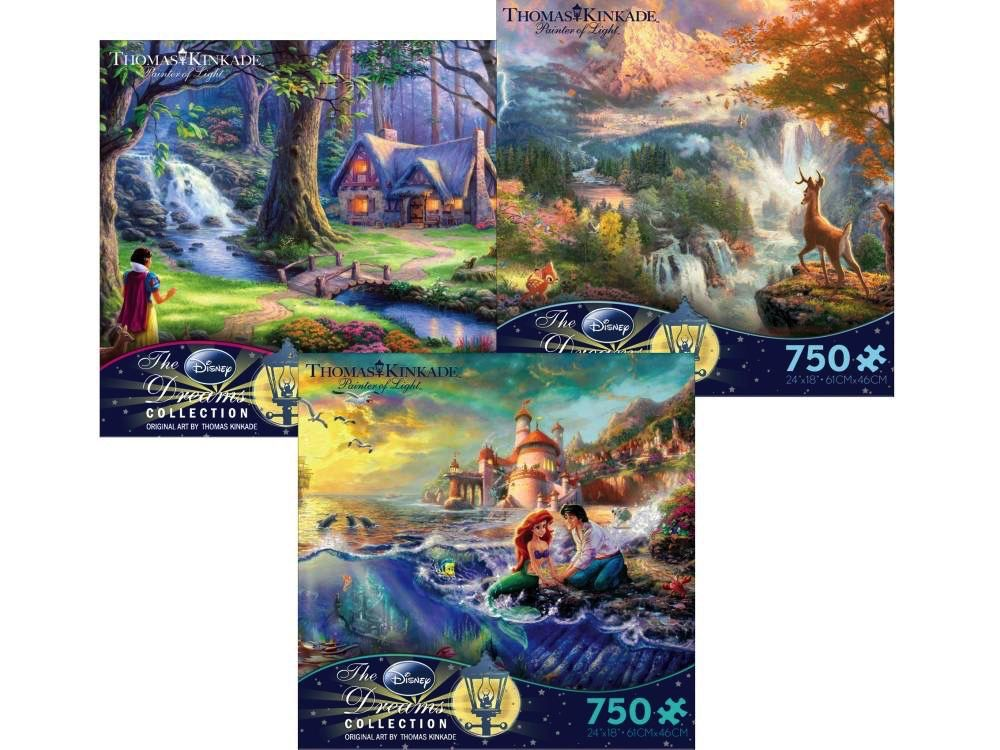 Australia DISNEY DREAMS 750pc ASST