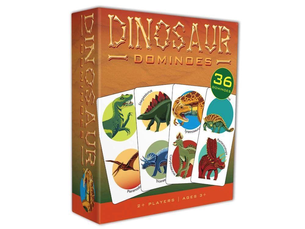 Australia DINOSAUR DOMINOES CARD GAME
