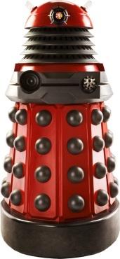 Australia Dr Who - Dalek Drone (Red) Cardboard Cutout