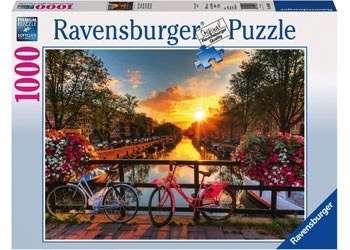 Australia Rburg - Bicycles in Amsterdam 1000pc Puzzle