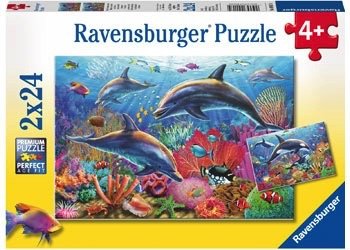 Australia Rburg - Underwater World 2x24pc Puzzle