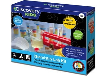 Australia Discovery Kids - Chemistry Lab Kit 80 Experiments