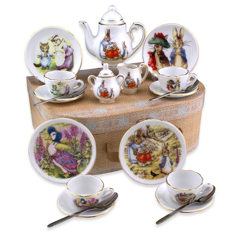 Europe Beatrix Potter TEA SET PETER RABBIT
