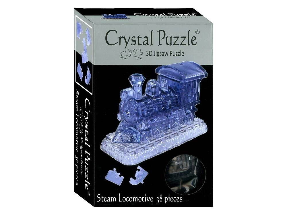 Australia 3D STEAM LOCO CRYSTAL PUZZLE