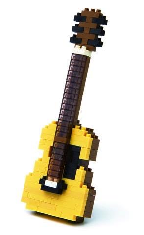 Australia Nanoblocks - Acoustic Guitar