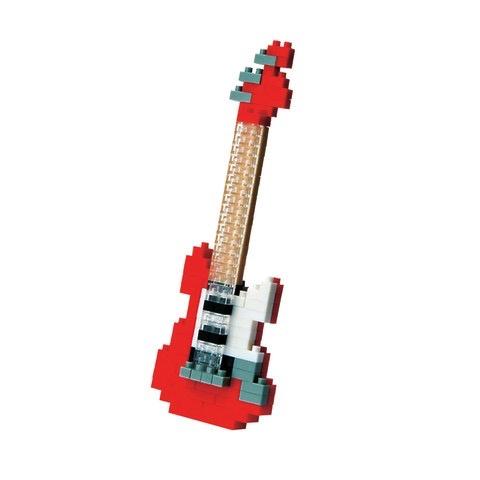 Australia Nanoblocks - Electric Guitar Red
