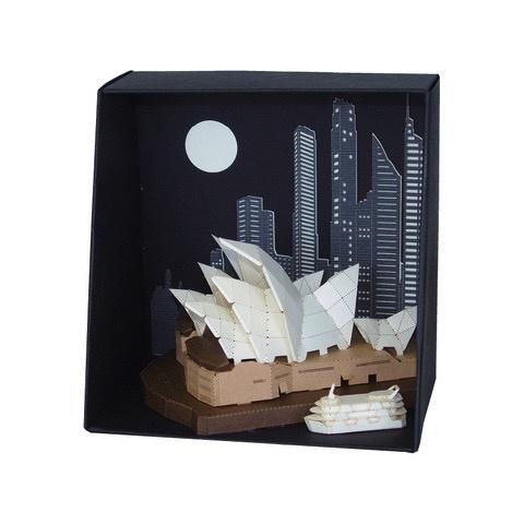 Australia Sydney Opera House Paper Nano