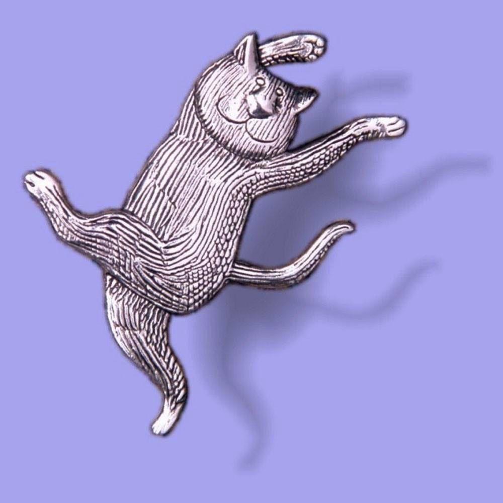 USA Pin: Gorey-Dancing Cat STG