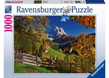 Australia Ravensburger - Mountainous Italy Puzzle 1000pc
