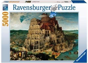 Australia Rburg - The Tower of Babel Puzzle 5000pc