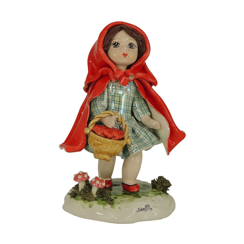 Europe Standing girl in red