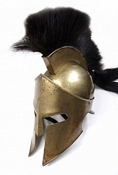 Australia 300 Spartan Helmet w/ stand