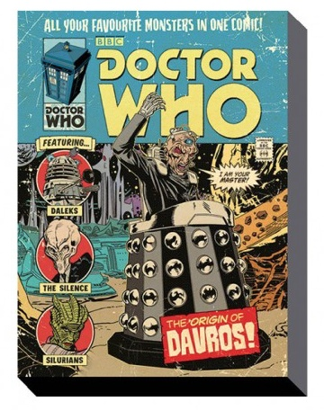 Australia Dr Who - Origin of Davros Canvas Print on Frame