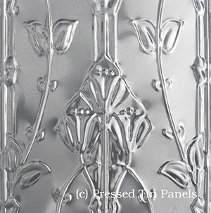 Australia Pressed Tin Lily Vertical 1800x600
