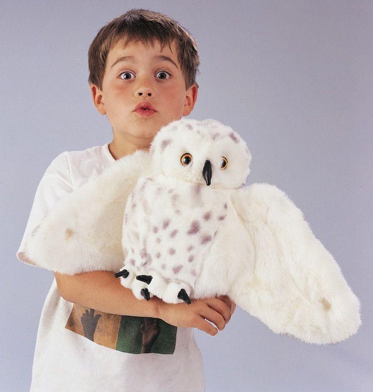 Australia Snowy Owl Puppet