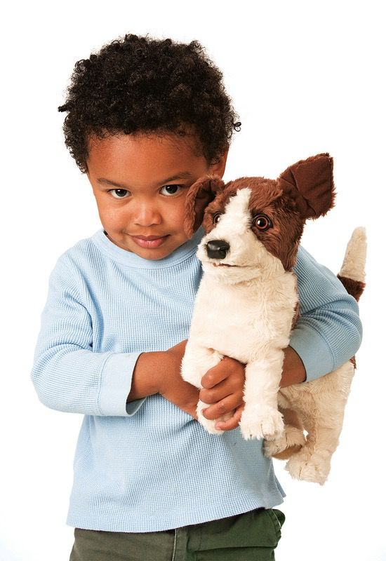 Australia Jack Russell Smooth Coat Puppet