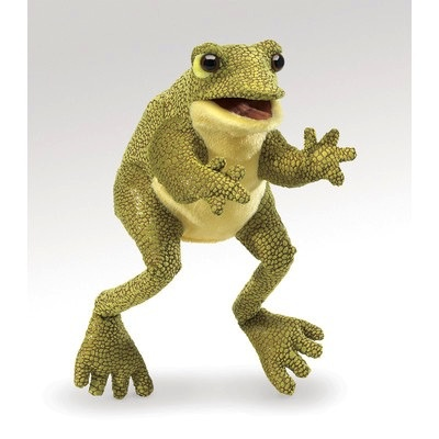 Australia Funny Frog Hand Puppet