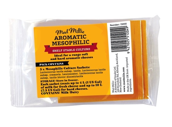 Australia Mad Millie Aromatic Mesophilic Culture Sachets x 5 [FREEZER]