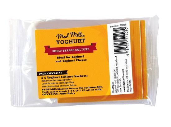 Australia Mad Millie Yoghurt Culture Sachets x 5 FREEZER