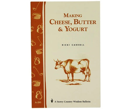 Australia Book: Making Cheese, Butter & Yoghurt by Carroll