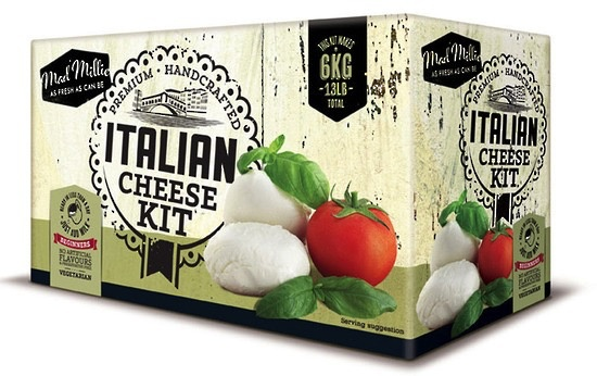 Australia Mad Millie Italian Cheeses Kit
