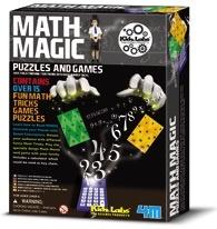Australia K.L: MATH MAGIC PUZZLES & GAMES