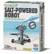 Australia K.L: SALT-POWERED ROBOT