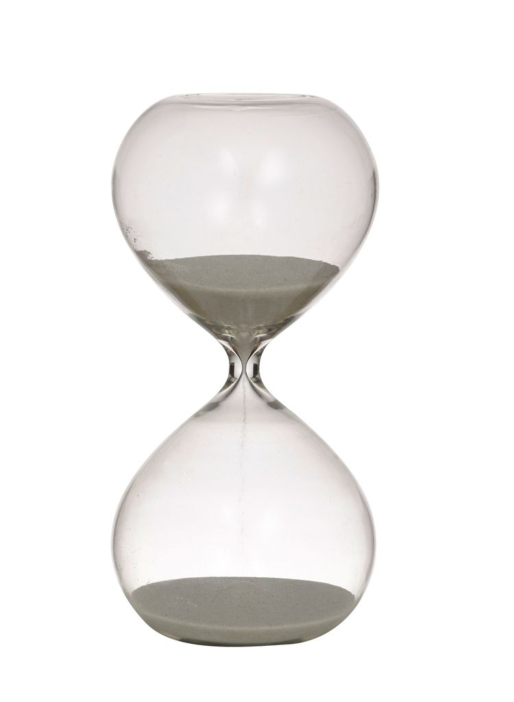 Australia As Time Hour Glass 30 Min 10x20cm Cle