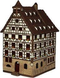 Europe German House Tealight - Nurnberg Pilatus-Haus