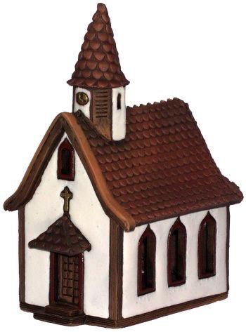 Europe German House Tealight - Kirchen