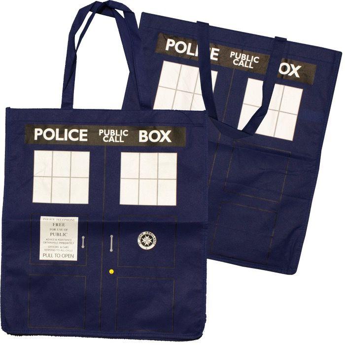 Australia Dr Who-TARDIS Tote Bag