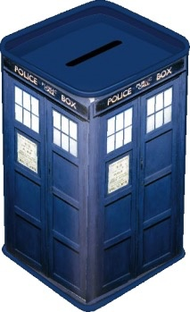 Australia Dr Who - TARDIS Money Box