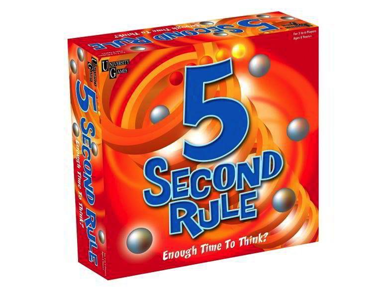 Australia 5 SECOND RULE BOARD GAME