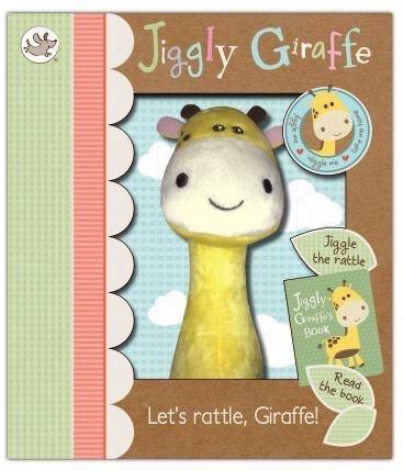 Australia JIGGLY GIRAFFE RATTLE SET