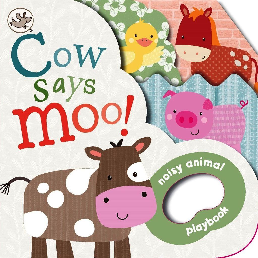 Australia COW SAYS MOO! SHAPED PLAYBOOK